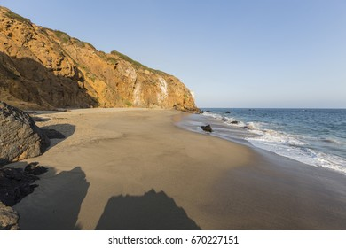 ab36f59c Afternoon view of secluded Pirates Cove beach at Point Dume State Park in  Malibu, California