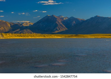 Afternoon view from the shore of Alkali lake