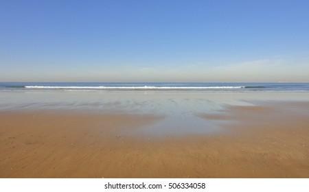 agadir beach in morocco. northern africa