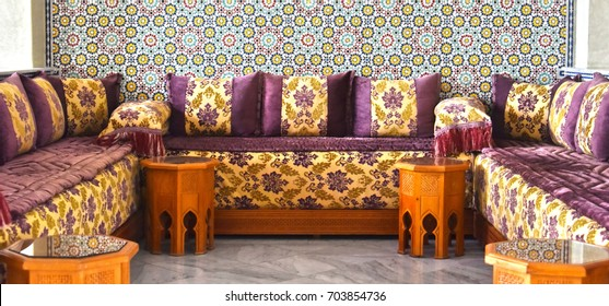 Moroccan Sofa Images, Stock Photos & Vectors | Shutterstock