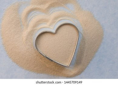 Agar Agar in a Heart Shape