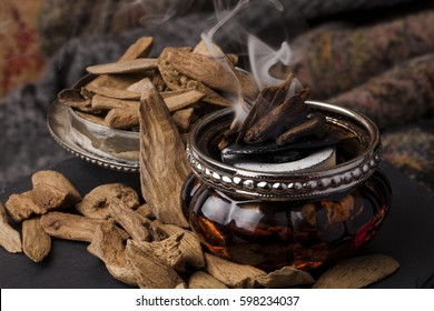 Agarwood, also called aloeswood incense chips