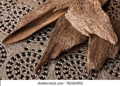 Agarwood, also called aloeswood incense chips from Thailand