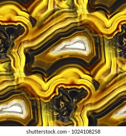 Agate Crystal cross section as seamless background