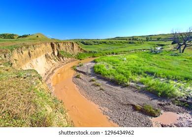 age Creek in Badlands National Park of South Dakota