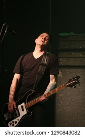 Age of Electric , April 15 2017, The Music Hall and Concert Theatre , Oshawa, Ontario , Canada John Kerns of Age of Electric
