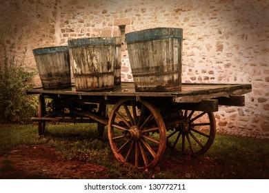 age wood carts
