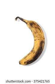 Aged and Bruised Banana