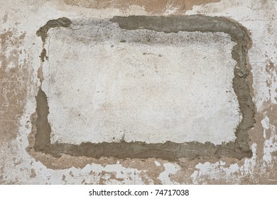 Aged concrete wall background, texture