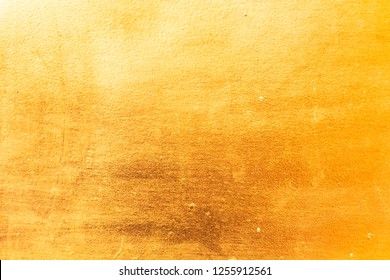 Aged gold metal texture for background