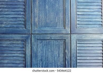 aged grunge weathered blue door wood texture