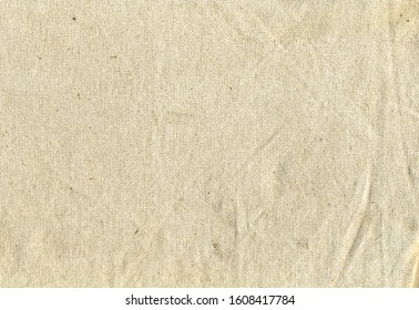 Aged linen structure texture background
