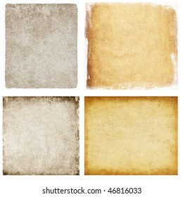 Aged paper set:great textures for your projects