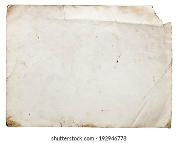 Aged paper texture can be used as background