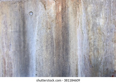 AGED WALL WITH SPOTS