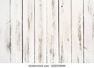 aged white wood vertical slats background