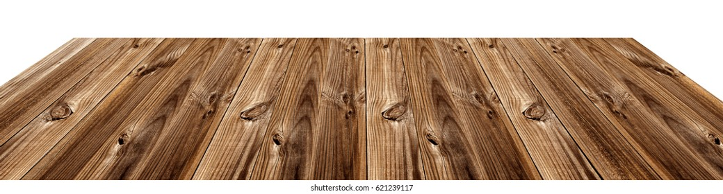 aged wood slats table, background