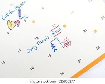 agenda on time planner