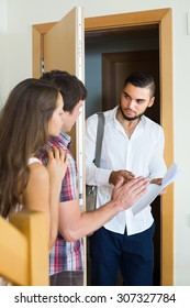 Agent came home to the couple clamouring credit repayment