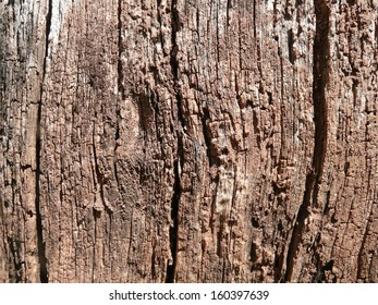 Age-roughened wood surface