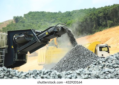 Aggregate Crusher Stock Photos, Images & Photography