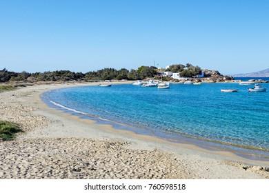 Agia Anna beach of Naxos island in Cyclades, Greece