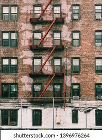 Aging apartment complex located in the Bronx