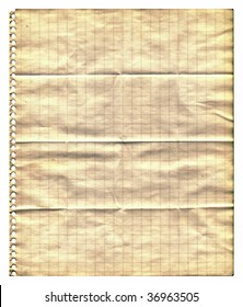Aging graph paper