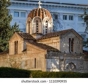 Agios Eleftherios Church in Athens, Greece