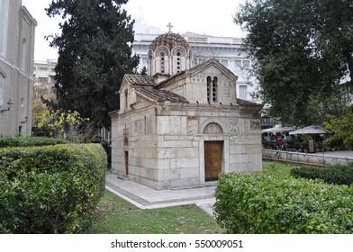 Agios Eleftherios Church, Athens, Greece