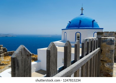 Agios Georgios church in Astypalaia island Greece