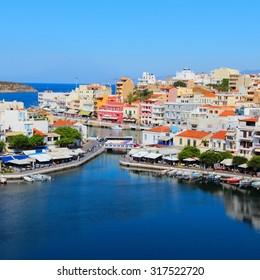 Agios Nikolaos, Crete island in Greece.