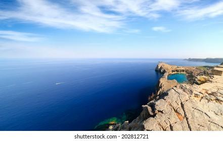 Agios Pavlos in Lindos (Rhodes Island, Greece)