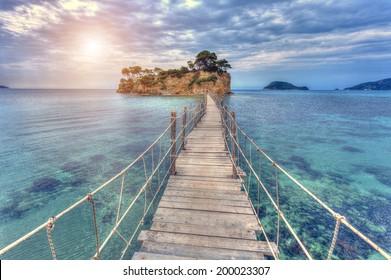 Agios Sostis in Zakynthos island,Greece