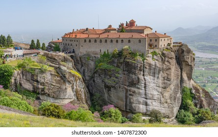 Agiou Stephanou (st. Stephen) Monastery, Meteora, Greece.