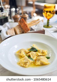 Agnolotti dal Plin, Traditional Piedmontese stuffed pasta with pork, Parmesan and Sage Butter
