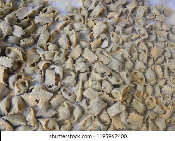 Agnolotti: pasta of the Langhe, Piedmont - Italy