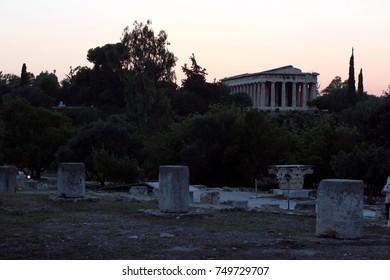 Agora Athens Greece