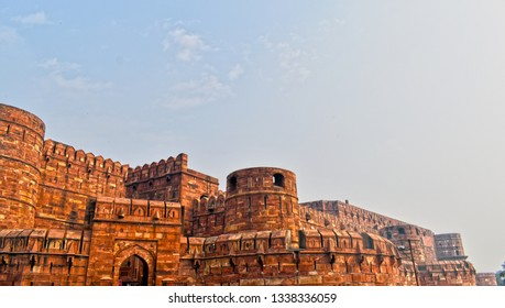 Agra Fort is a historical fort in the city of Agra in India. It was the main residence of the emperors of the Mughal Dynasty until 1638, when the capital was shifted from Agra to Delhi.