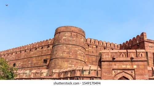 Agra Fort is a historical fort in the city of Agra in India. It was the main residence of the emperors of the Mughal Dynasty.