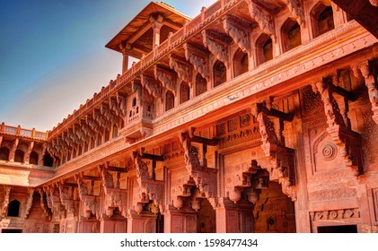 Agra Fort is a historical fort in the city of Agra in India. It was the main residence of the emperors of the Mughal Dynasty until 1638