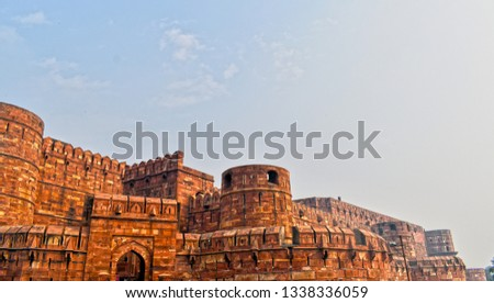 Agra Fort is a