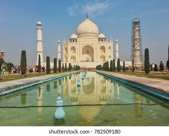 Agra, India/ March 2nd 2017/ Tai Mahal
