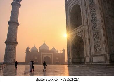 Taj Mahal Silhouette Images Stock Photos Vectors