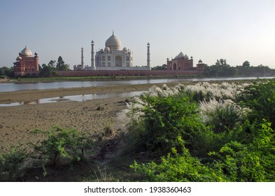 """agra uttar pradesh india on 21st september 2018 :The Taj Mahal was designated as a UNESCO World Heritage Site in 1983 for being """"the jewel of Muslim art in India."""