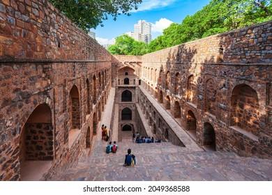 Agrasen ki Baoli or Ugrasen ki Baodi is a historical step well near Connaught Place in New Delhi, India