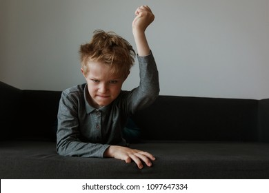 agressive angry conflict child