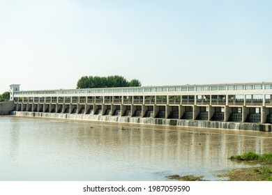 Agricultural impoundment dams for rural water conservancy projects in Northeast China
