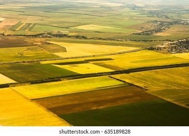Agricultural landscape (Crimea)
