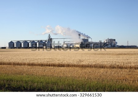 agricultural refinery